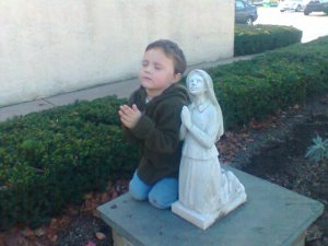 praying silas