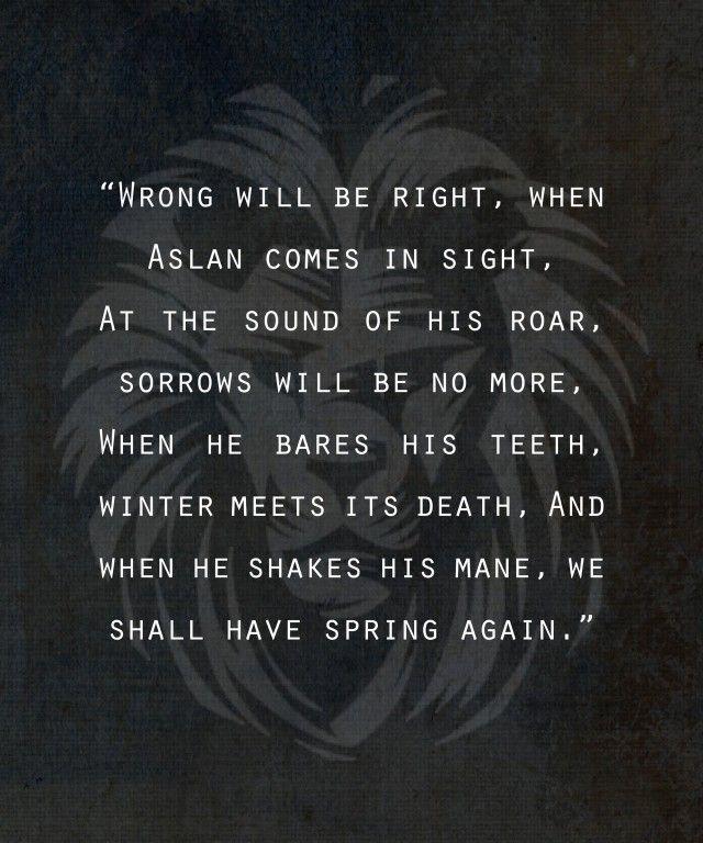 aslan spring again
